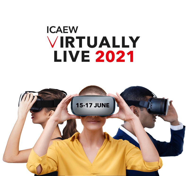 ICAEW Virtually Live - 15-17 June 2021