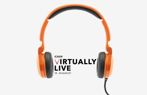 Learn more about ICAEW Virtually Live 2020