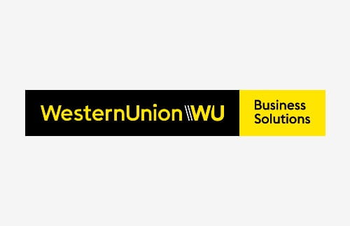 Logo of Western Union Business Solutions an ICAEW commercial partner